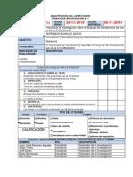 Organigrama Operaciones Aritméticas y Lógicas de un Computador