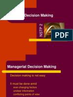 NSTP 2D Decision Making
