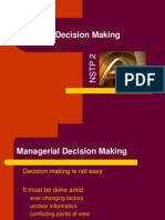 NSTP 2D Decision Making