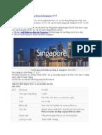 tuyển dụng xuất khẩu lao động Singapore 2015