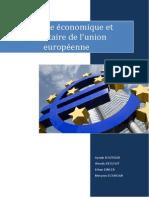 Politique économique de l'Union Européenne