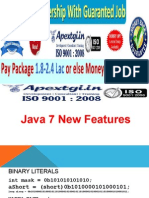 What all New Features are there in Java 7