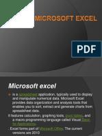 Presentation 1 microsoft excel