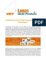 Logosweld Multifarious Welding Electrode Products