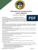 Regolamento Rally-o 2010