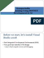 Synapseindia Programming Using DOTNET Development