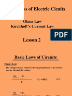 Lesson 2 Basic Circuit Laws