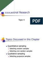 Qualitative Research Sampling 2