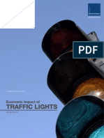 Economic Impact of Traffic Signals