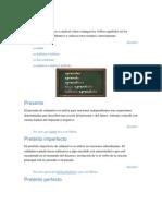 Gramática- El Subjuntivo