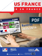 Dépliant Campus France 2015 new