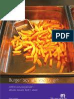 Burger Boy Sporty Girl