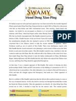 My Friend Deng Xiao Ping