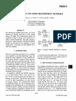 A Dynamic AM-AM and AM-PM Measurement Technique