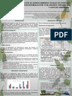 Degradacion de Hidrocarburos en Suelos Con Abonos Organicos y Especies Arboreas