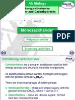 Monosaccharides-Disaccharides