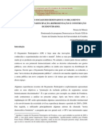 Segmentos Sociais Discriminados e o Orçamento Participativo - Participação, Representação e Construção - Morais,Neiara