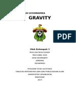 Model Kompensasi Pengamatan Anomaly Geoid