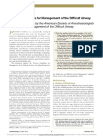 Practice Guidelines for Management of the Difficult Airway 2013 (1)
