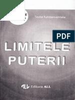 Mihail Solcan, Adrian-Paul Iliescu-Limitele Puterii-ALL (1994)