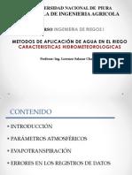 Clase 06 Caracteristicas Climaticas