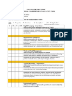 dailey foundational competencies