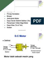 Topic 2 Dc Motor