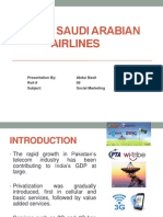 7 P's of Saudi Arabian Airlines