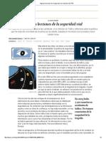 Algunas Lecciones de La Seguridad Vial _ Opinión _ EL PAÍS