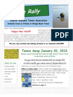 CAT January 2010 Newsletter