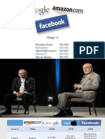 Amazon,Apple,Google Facebook