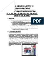 EVALUACION DEL REGIMEN TERMICO SOBRE PERDIDAS MECANICAS