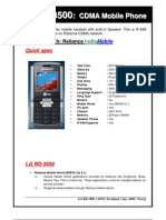 Product Note RD3500