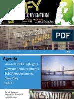 VMworld 2013 Highlights - Sales