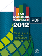 Fao World Food Statistics 2012