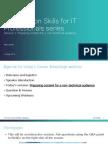 Webinar_PresentationSkills for NonIT Audience_Session1
