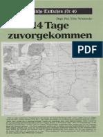 Historische Tatsachen - Nr. 40 - Udo Walendy - 14 Tage zuvorgekommen (1989, 40 S., Scan).pdf