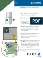 Manual de instalación WatchDOG