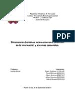 Selecion de la Informacion y Sistemas Personales PNL