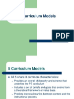 curriculummodels
