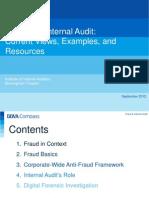 Fraud Internal Audit IIA 6Sep2012