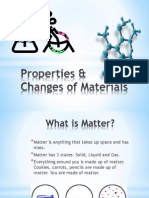 properties  changes of materials