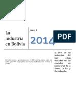 Informe Industrias Bolivia