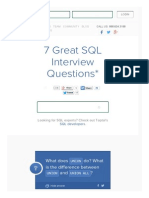 7 Great SQL Interview Questions and Answers _ Toptal