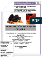 Elaboracion de Chicha de Joraaa