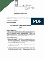 Proyecto Ley2691-2008 LeyForestal Fauna Silvestre[1]