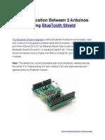 Communication Bet 2 Arduino Using Bluetooth