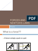 forces and newtons laws