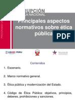 Etica de La Funcion Publica Dificultades y Perspectivas de Su Aplicacion