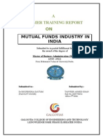 Mutual Funds Industry in India Final